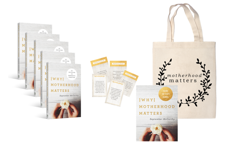 Why Motherhood Matters Pre-Order Bonuses - Purchase 5 Books